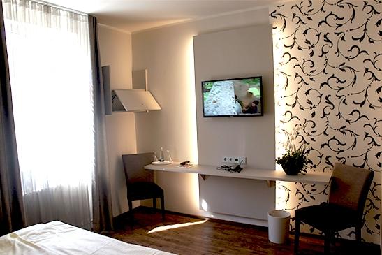 Doppelzimmer Deluxe im Stadthotel Engel in Ettlingen