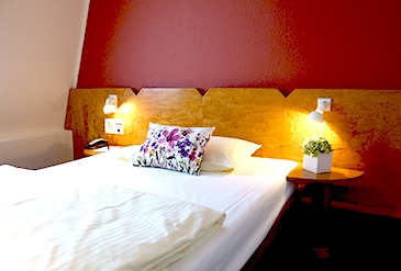 Einzelzimmer Komfort im Stadthotel Engel in Ettlingen