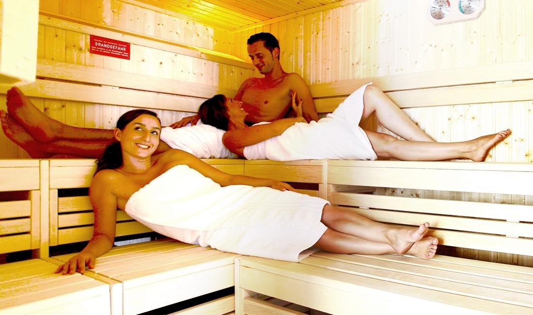 Finnische Sauna im Stadthotel Engel in Ettlingen