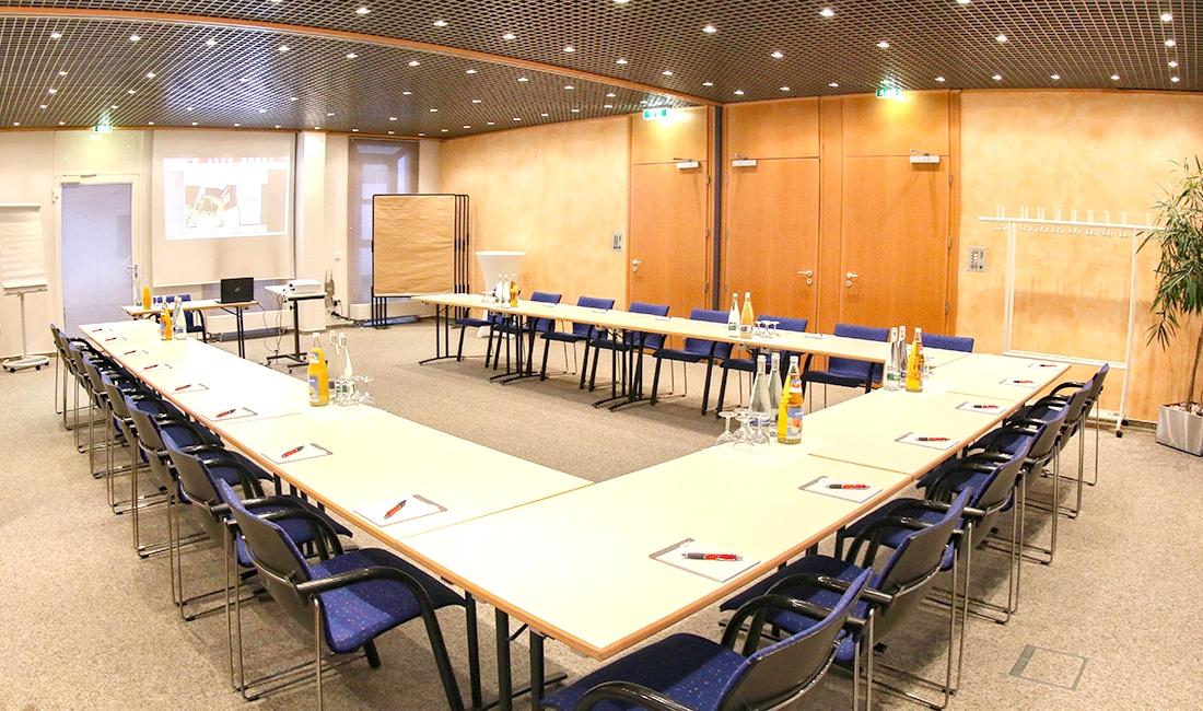 Tagungsraum im Stadthotel Engel in Ettlingen