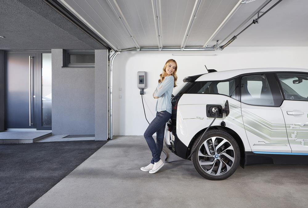 Elektroautos im Stadthotel Engel in Ettlingen aufladen